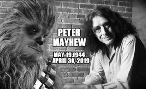 Muere Peter Mayhew quien interpretará a Chewbacca en Star Wars